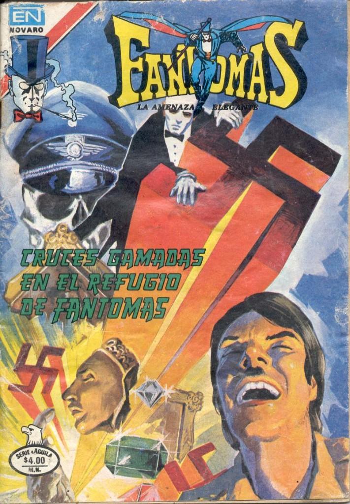 Swastikas in Fantomas's refuge cover