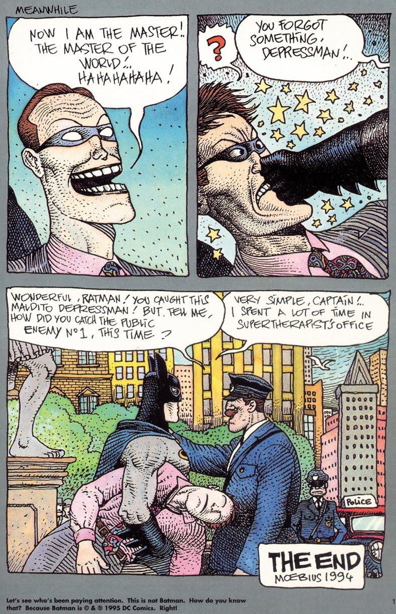 Not Batman by Moebius