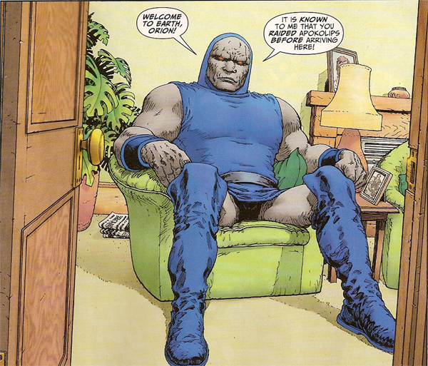Darkseid, the king of chill