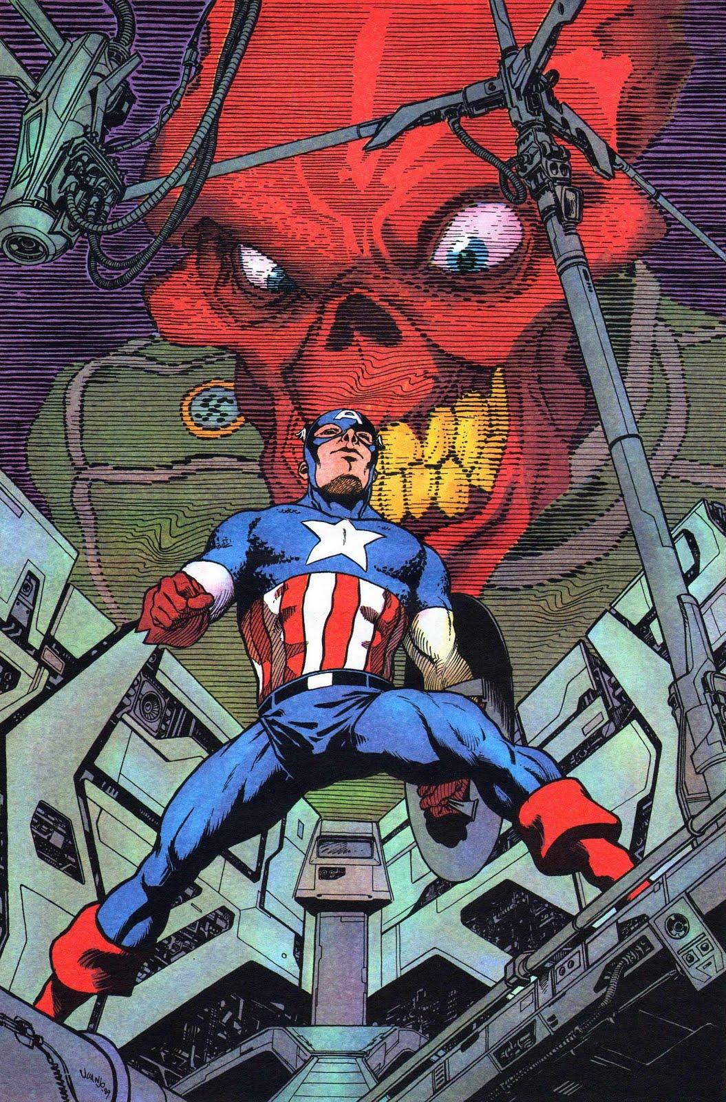 Captain America vs Red Skull