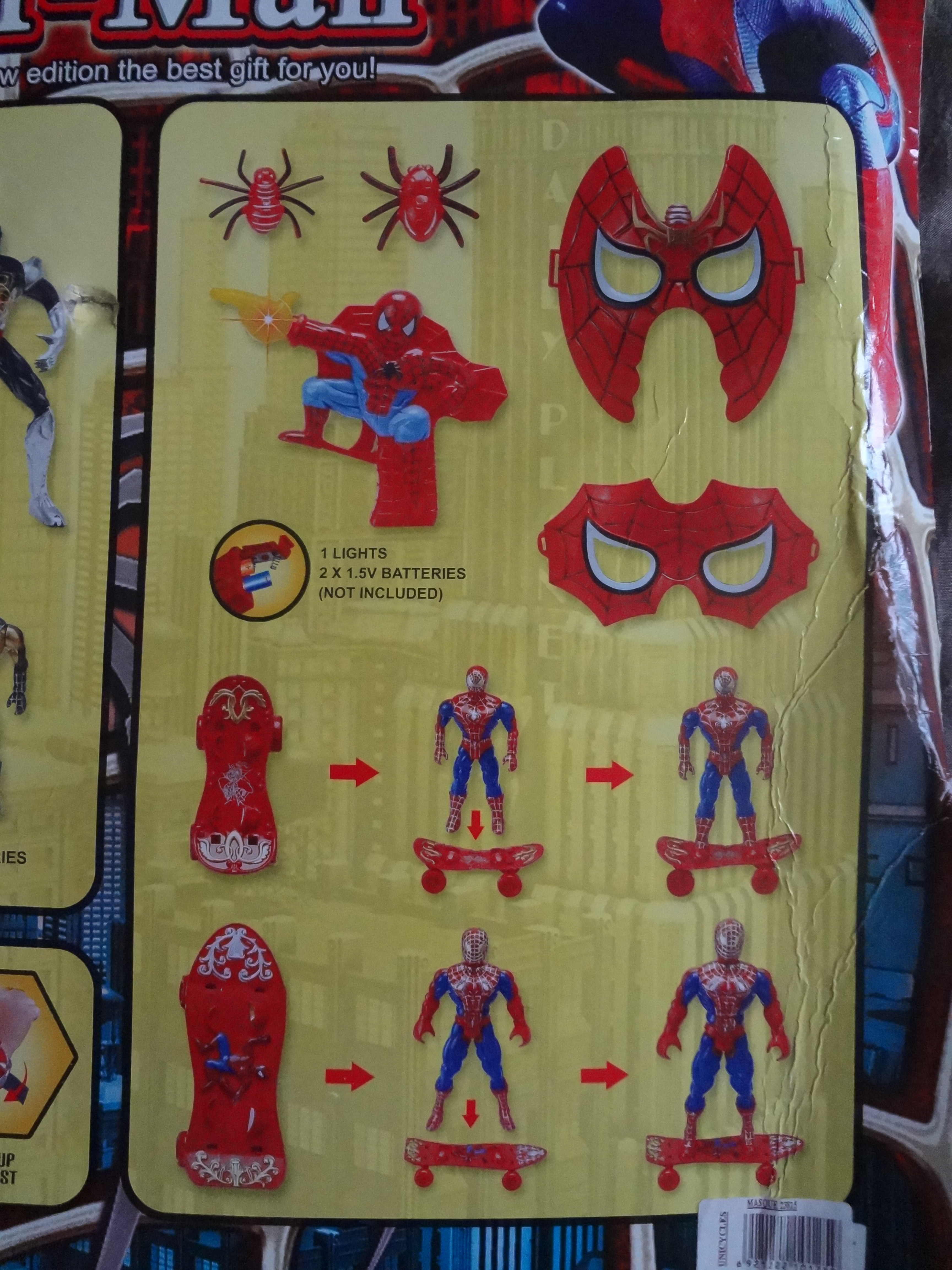 yes they all have light coming out of their chest a common thread on most chinese superhero toys post rdjs iron man i really dig that black spider man bootleg iron man 2 starring