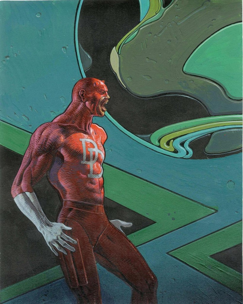 Daredevil by Moebius