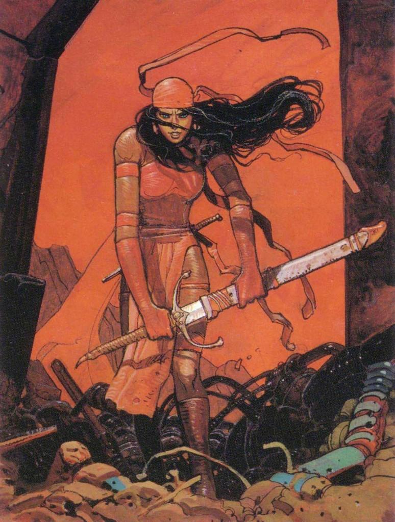 Elektra by Moebius