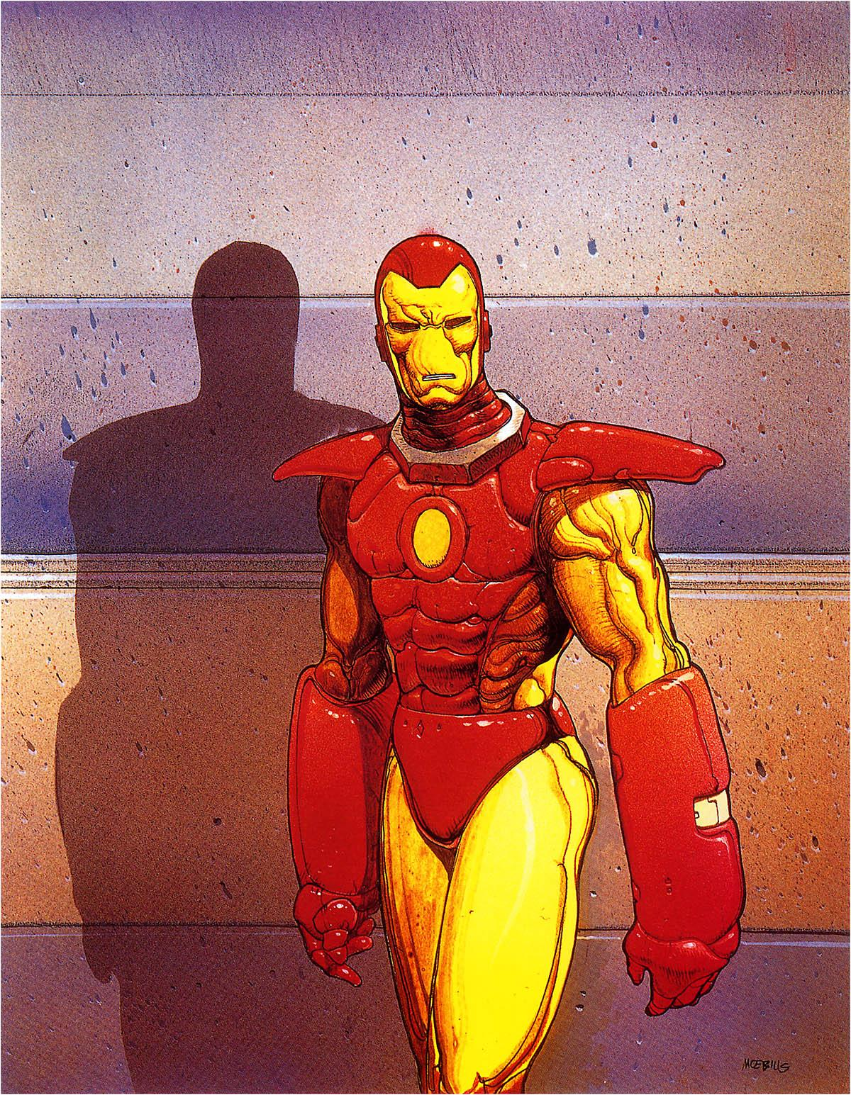 Iron Man by Moebius