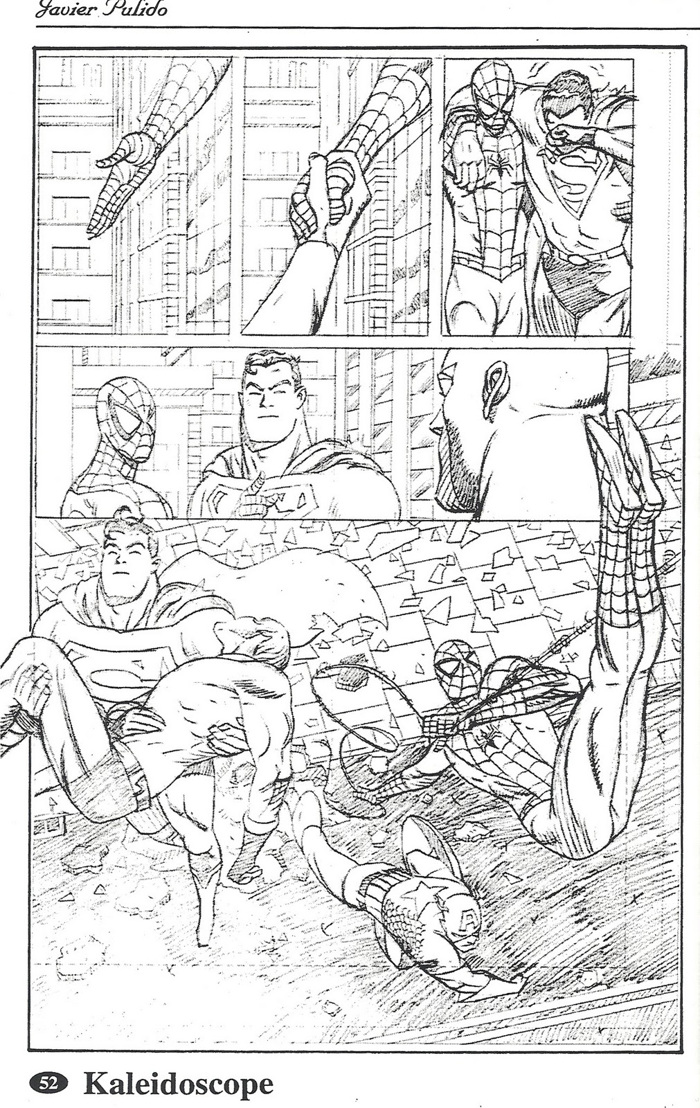 Another sample for Marvel / DC