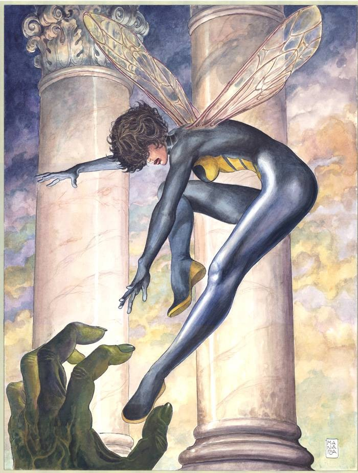 Uncanny Avengers #8 Manara variant