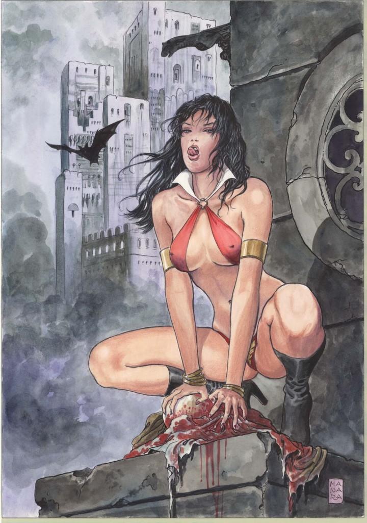 Vampirella by Manara