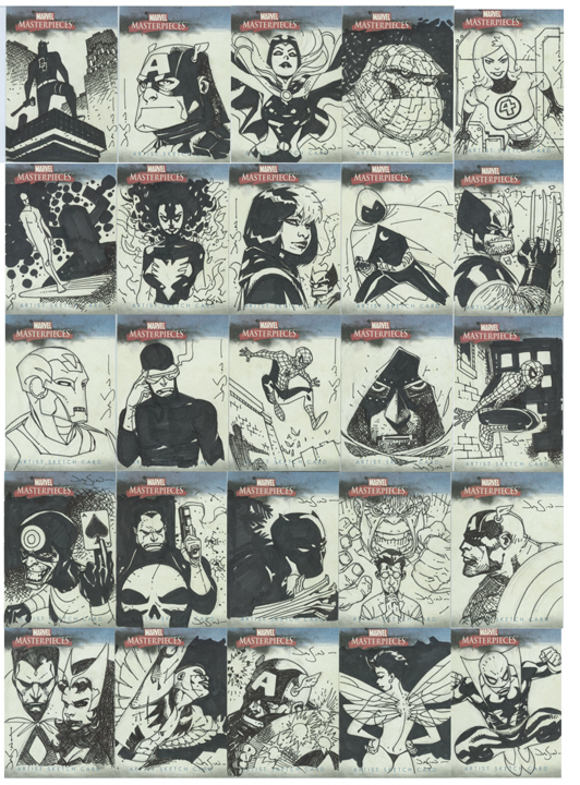 Marvel Sketch Cards