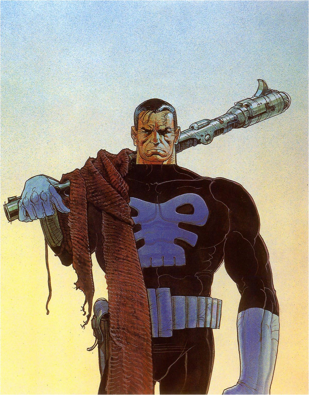 Punisher by Moebius