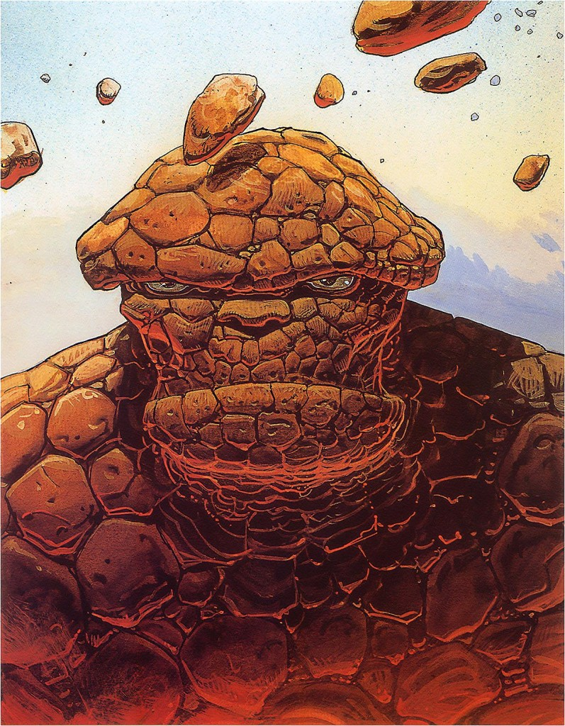 The Thing by Moebius
