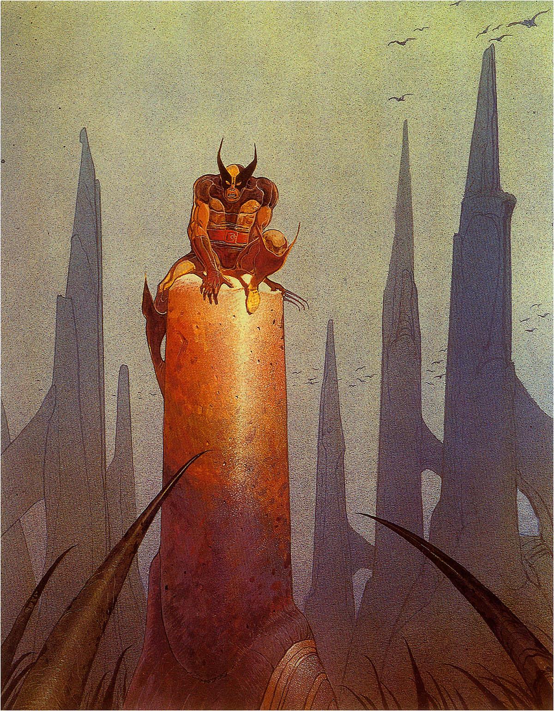 Wolverine by Moebius