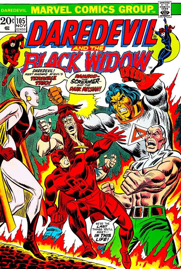 Daredevil #105 … Greatest cover ever?