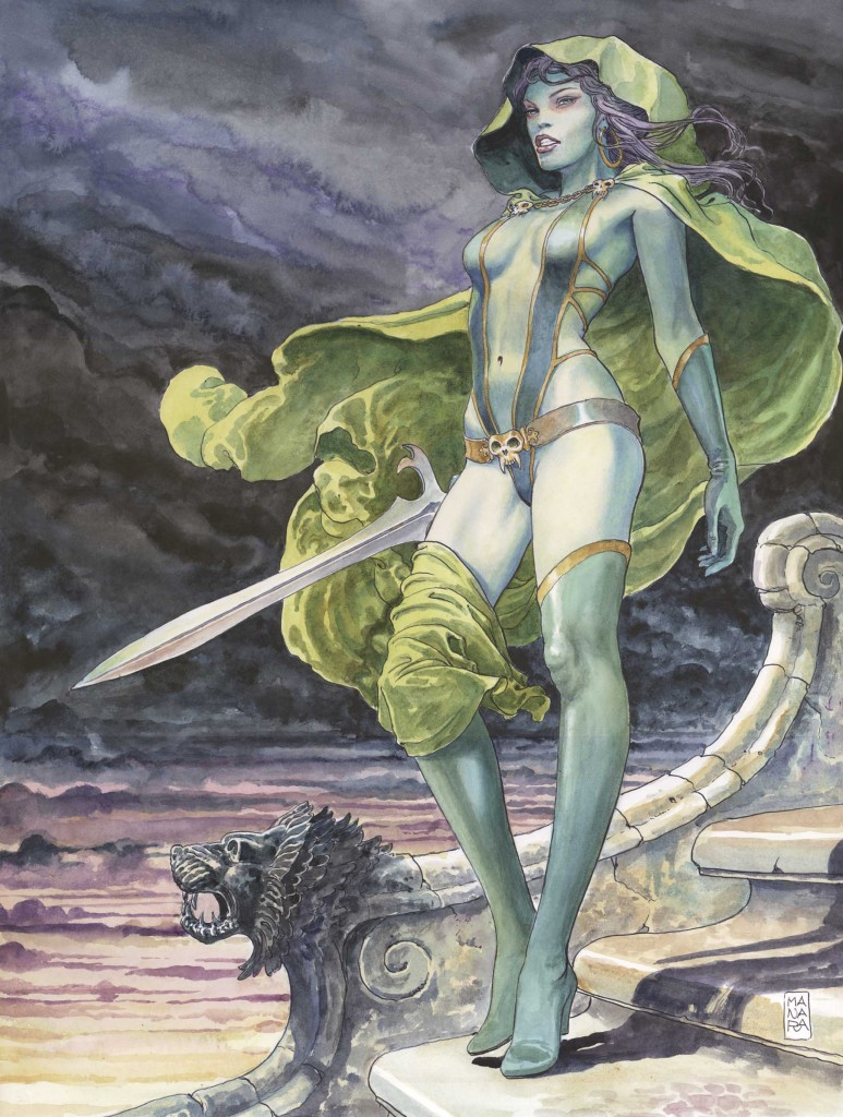 Guardians of the Galaxy #1 Manara variant