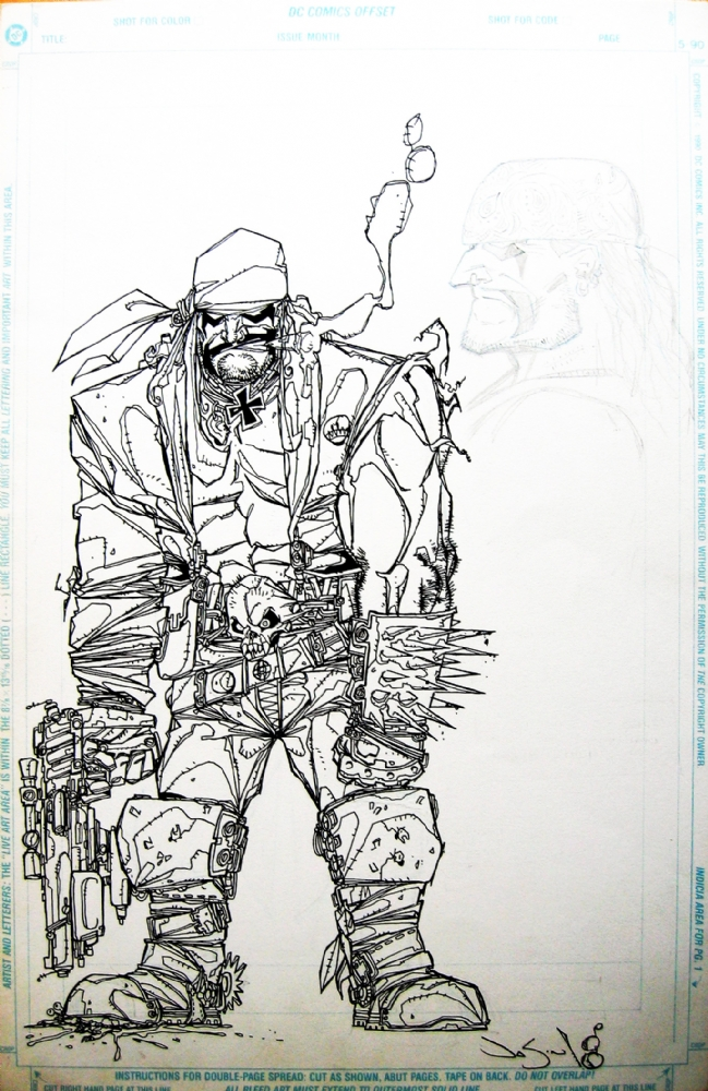 Lobo by Jason Pearson and Keith Giffen