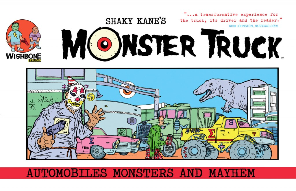 Shaky Kane's Monster Truck Cover