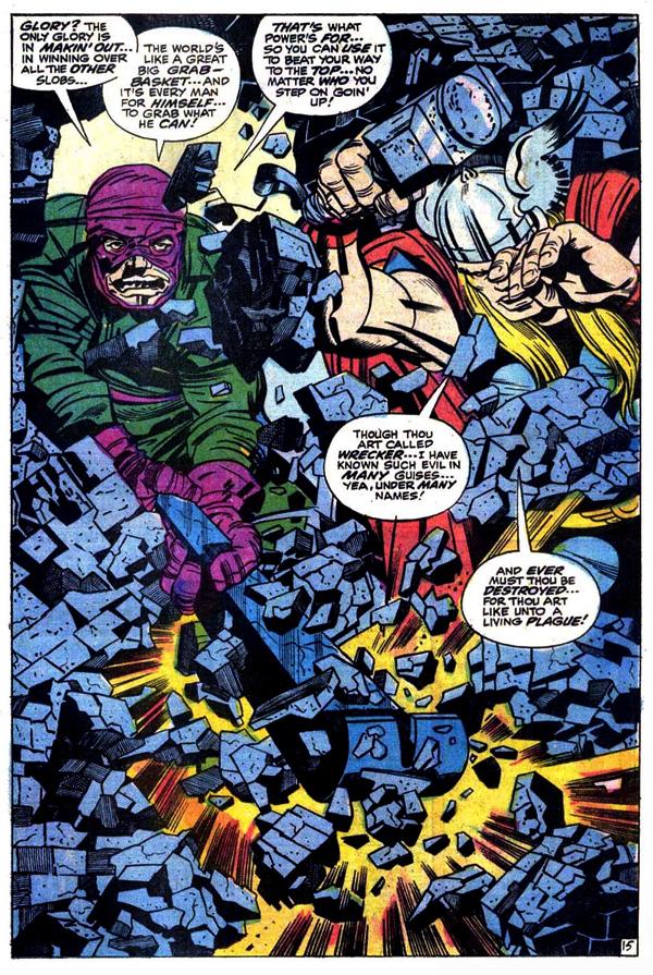Thor 171 Splash Page
