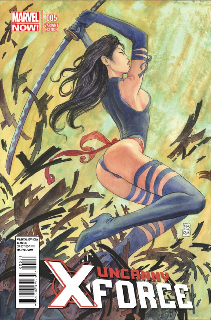 Uncanny X-Force #5 Manara variant